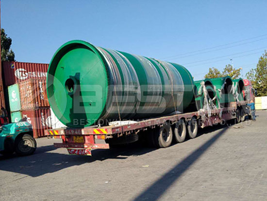 Waste Tyre Recycling Machine to Canada